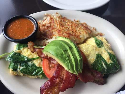blt omelete